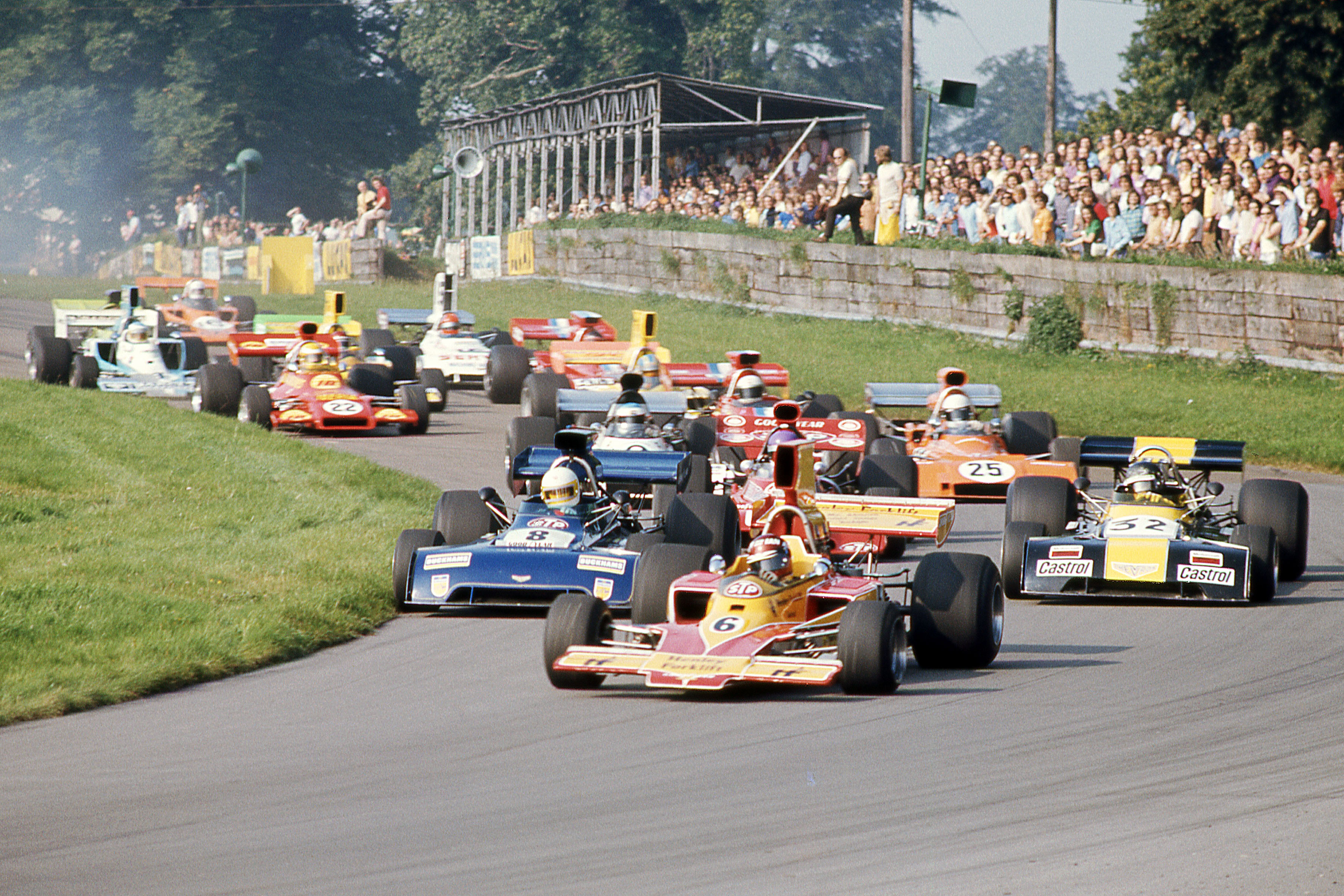 09-Sep-73, Oulton Park, Rothmans Gold Cup for F5000 cars, start of the Gold Cup, , , Motor RacingCopyright:www.mphotographic.co.uk © Mike Petch 2018.