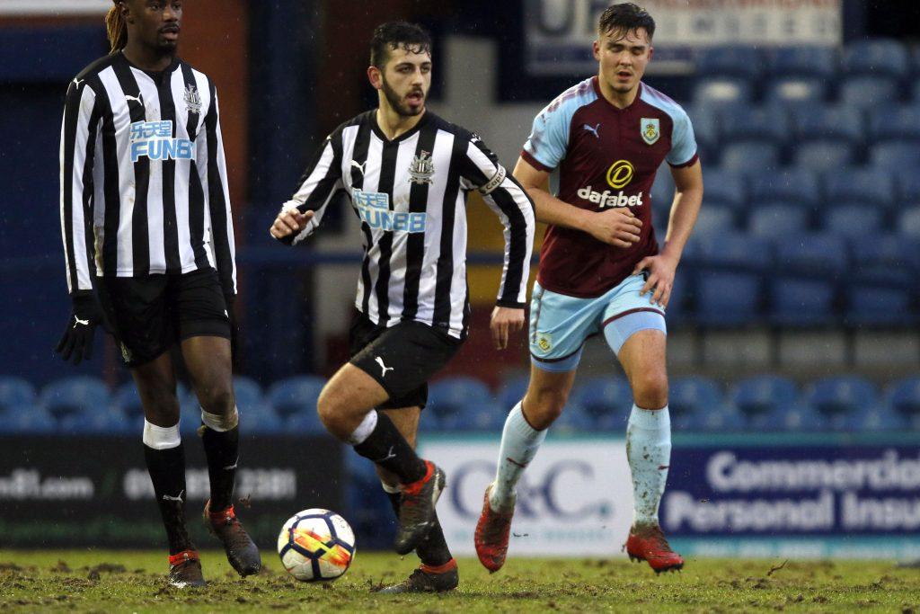Burnley U23 0-4 Newcastle U23, Premier League Cup